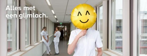 ijsselland ziekenhuis smiley met tekst