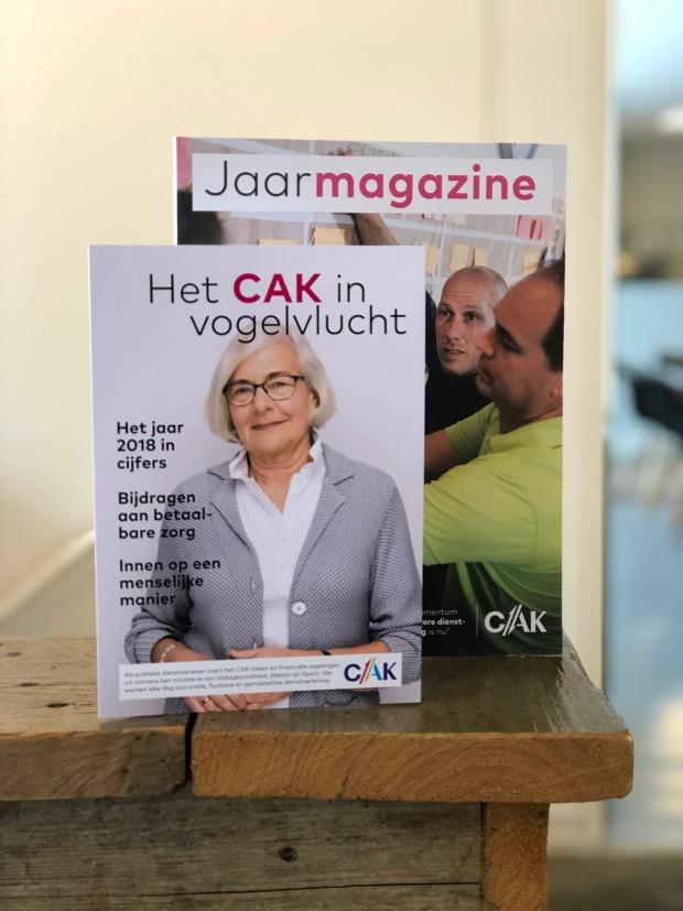 CAK jaarmagazine 2018 en handout