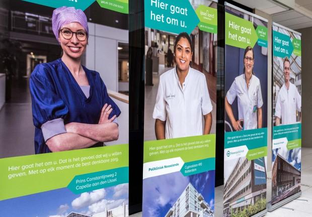 vier posters ijsselland ziekenhuis