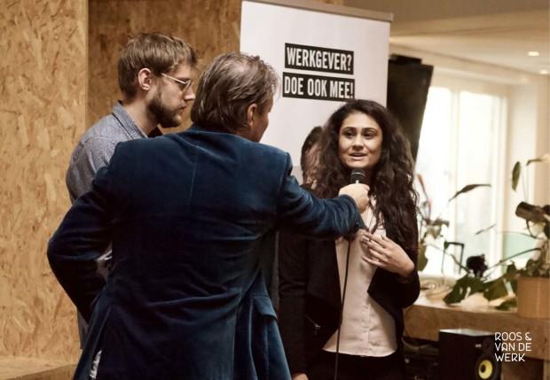 Yasmin Erasmus MC bij kick-off campagne WSP Rijnmond