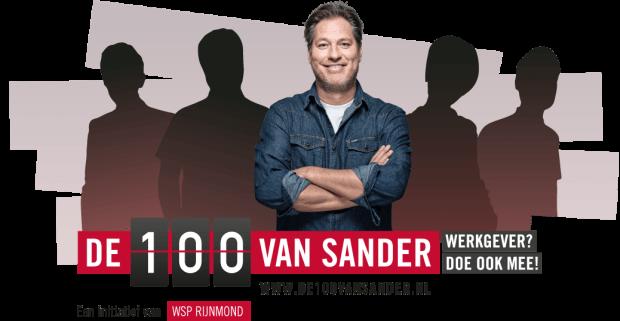 de 100 van sander campagnebeeld