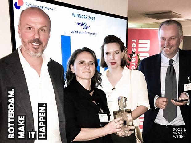 Gemeente Rotterdam wint reputatiemanagement award 2015
